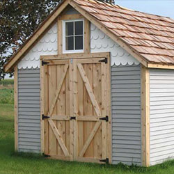 Alpine Wood Shed